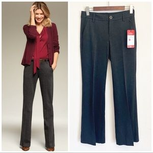 •CABI•Charcoal Promotion Twill Flare Trouser #3574